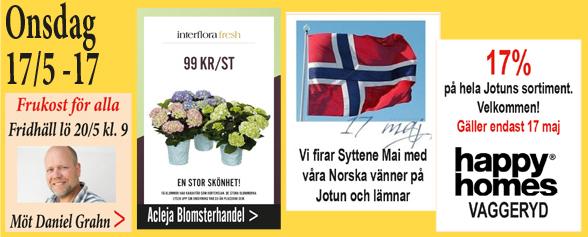 Onsdag – vi hyllar Norge