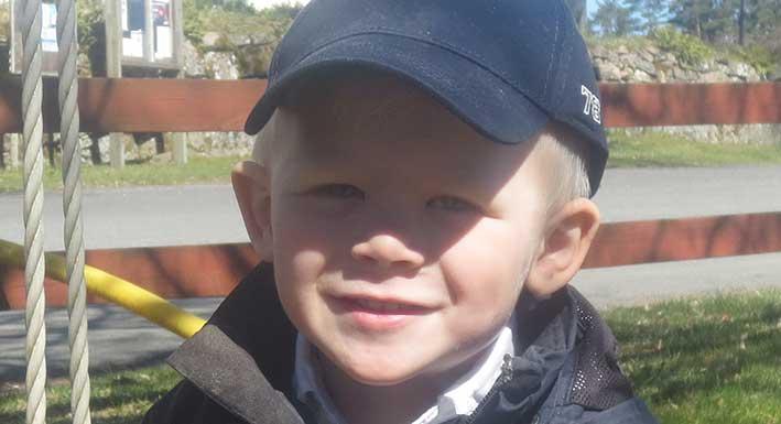 Karl-Johan Andersson 4 år