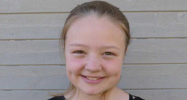 Molly Hansson 11 år
