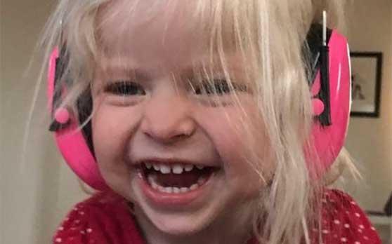 Molly Grythberg Sandahl 3 år