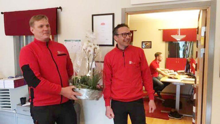 TV: Kristofer och Jonas är Årets Företagare