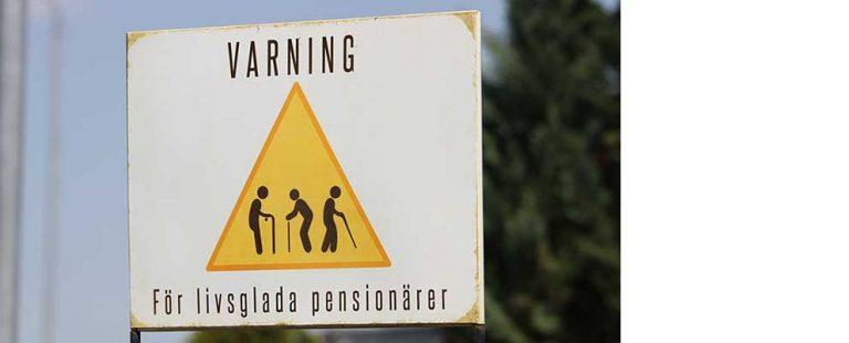 Blogg: Varning för pensionärer!