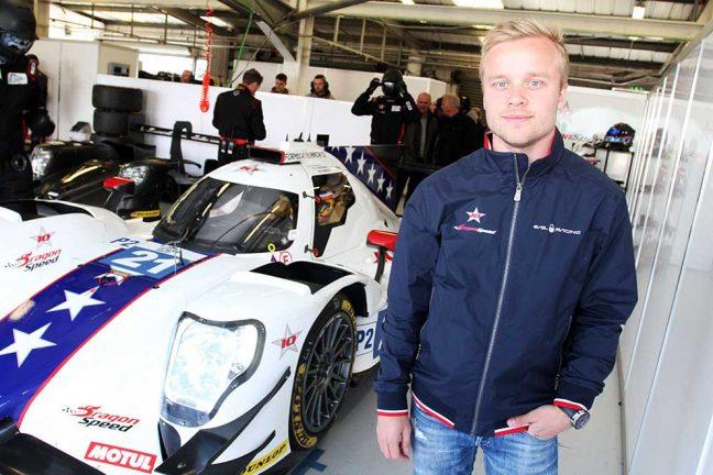 Felix på plats i Le Mans