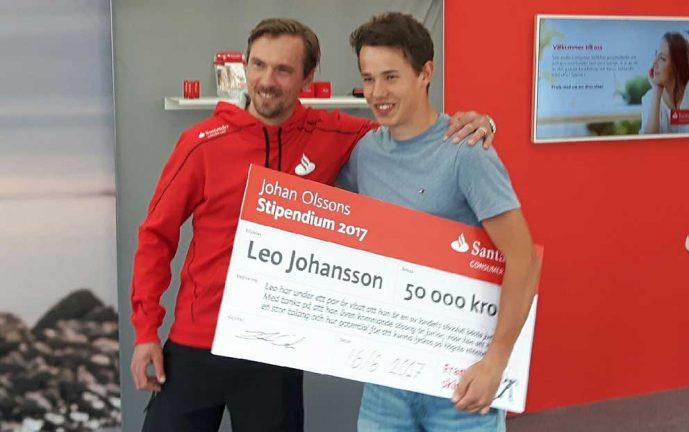Leo fick 50 000 av skidkung