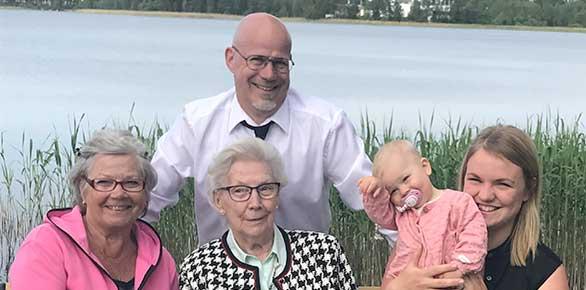 Fem generationer i Vaggeryd