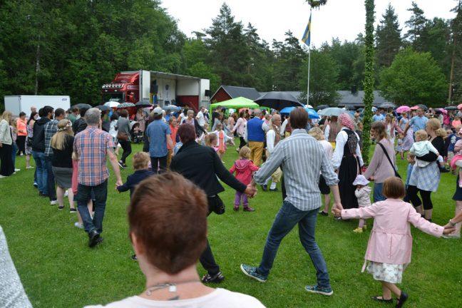 Lyckad Bäckalycke-fest trots regnet