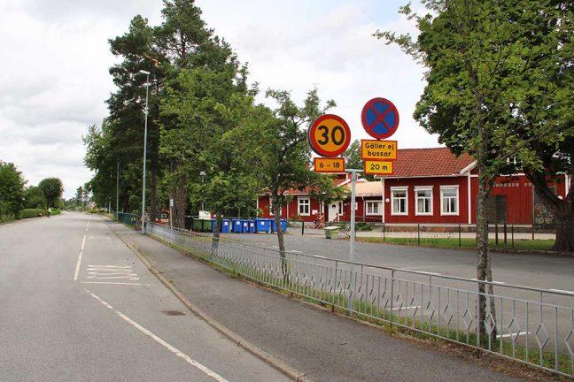 Nya planer utanför Götafors skola