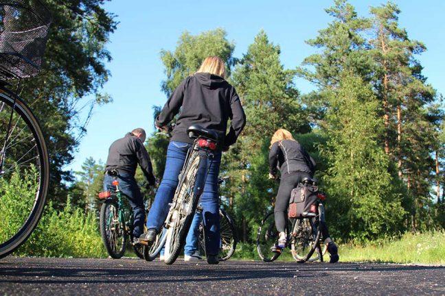Cykelväg planeras till Herrgården