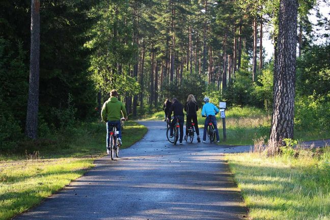 Ingen cykelväg vid Strömbergsvägen