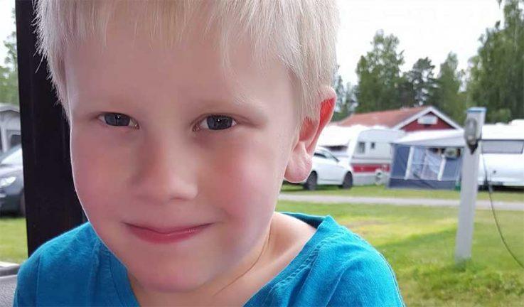 Lukas Ivarsson 6 år