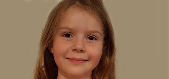 Maja Rydholm 8 år