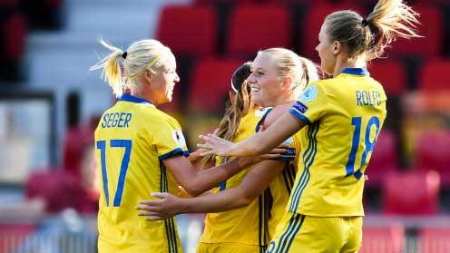 Svenskorna vann klart