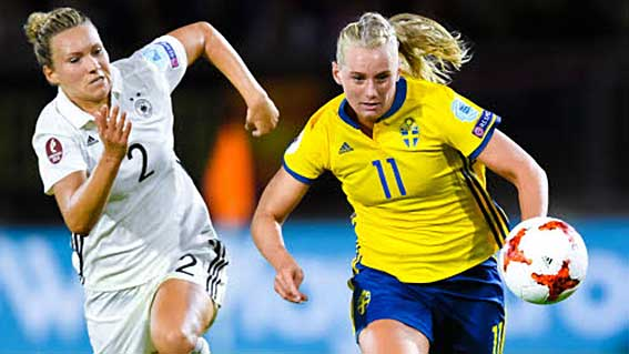 0–0 för svenskorna i EM-premiären