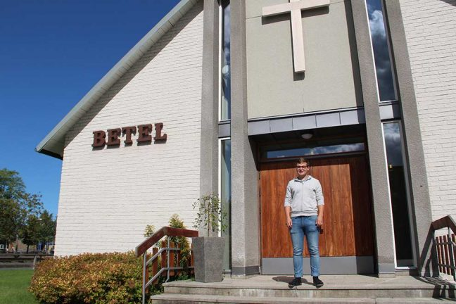 Axel är ny ungdomsledare i Betel