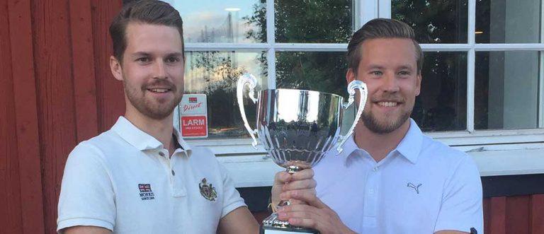 Rasmus och Axel blev mästare