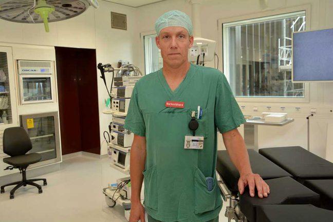 Avdelning för operation och intensivvård  invigs