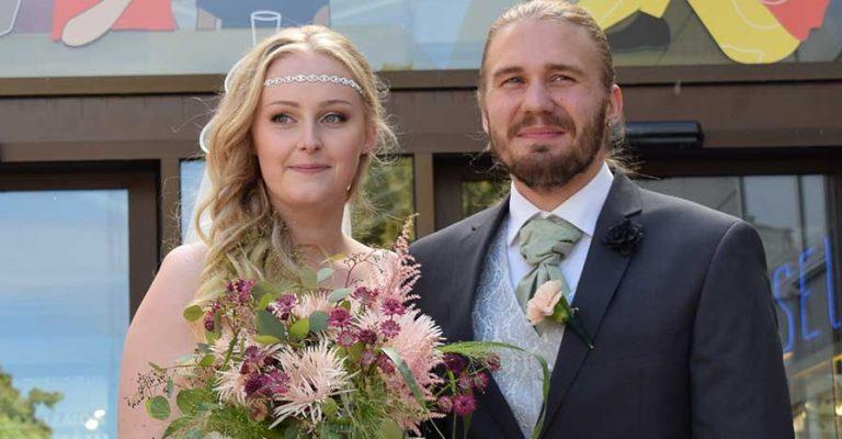 Jennie och Christoffer