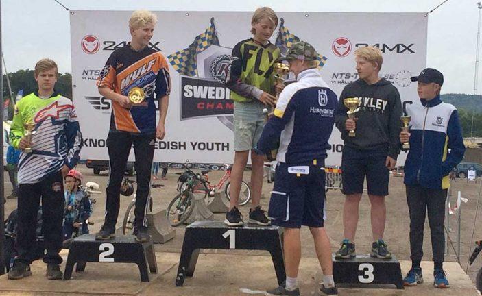 Kalle vann i Ungdoms-SM