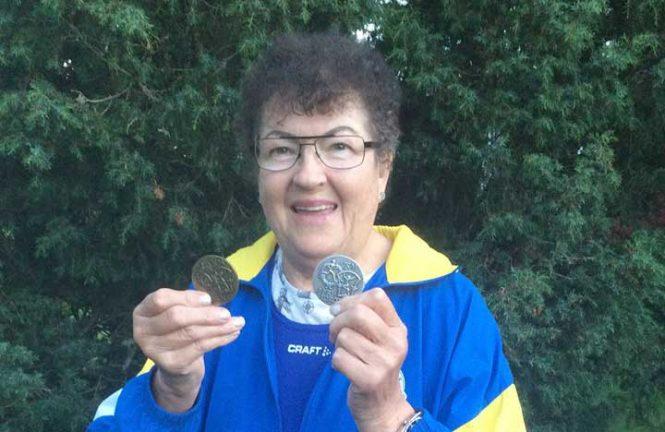 Ann-Marie vann SM-silver i slägga