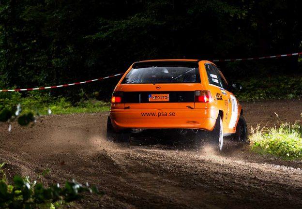 Flest från SSMK i Rallycupsfinal