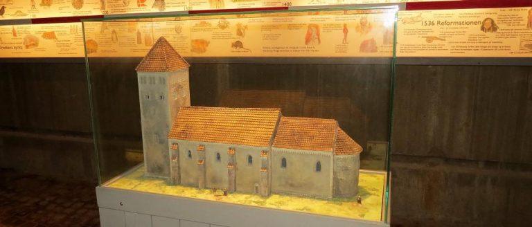 Drottens gamla kyrkoruin i Lund