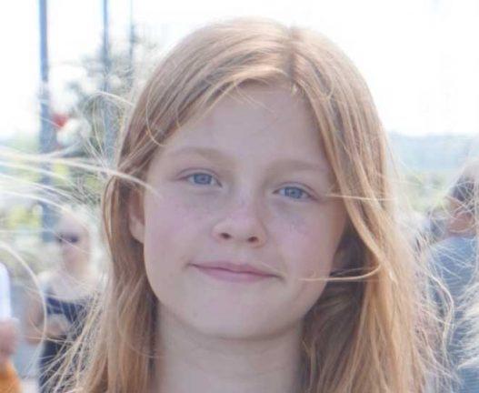 Märtha Brännström 12 år