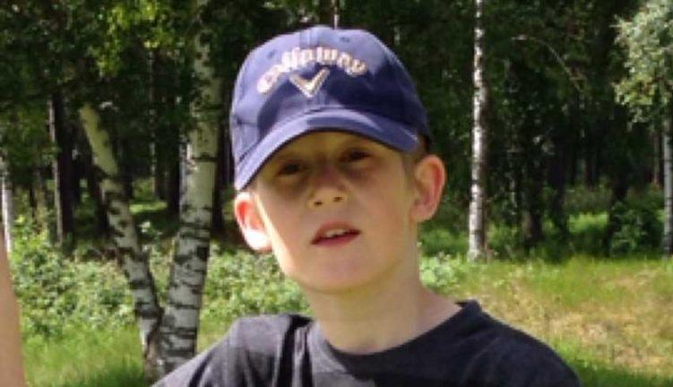 William Robertsson Holm 13 år