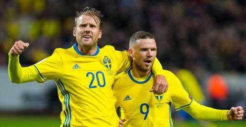 8–0 för Sverige i VM-kvalet