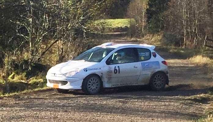 En pallplats i rallyfinalen