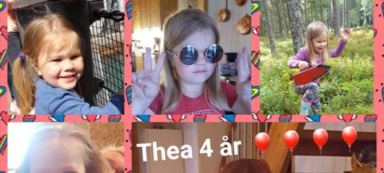 Thea Nyman 4 år