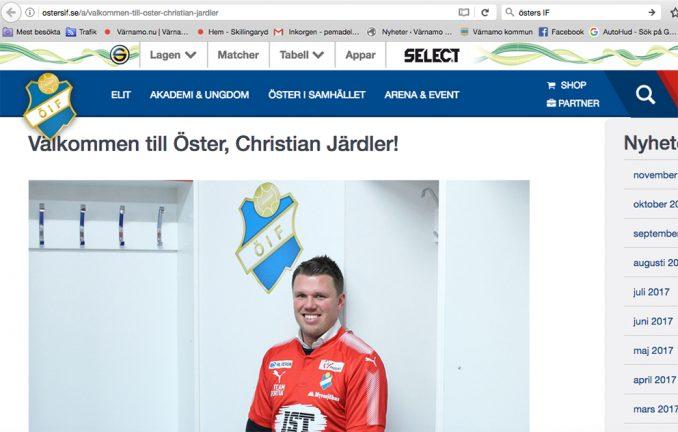 Järdler klar för Östers IF
