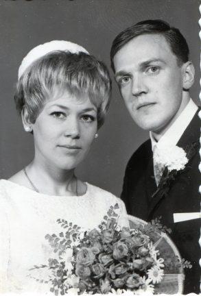 Margareta och Glenn firar 50 år som gifta