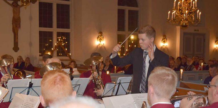 Carl dirigerade julens toner