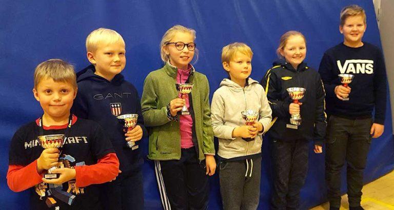 Första tävlingen för flera ungdomar
