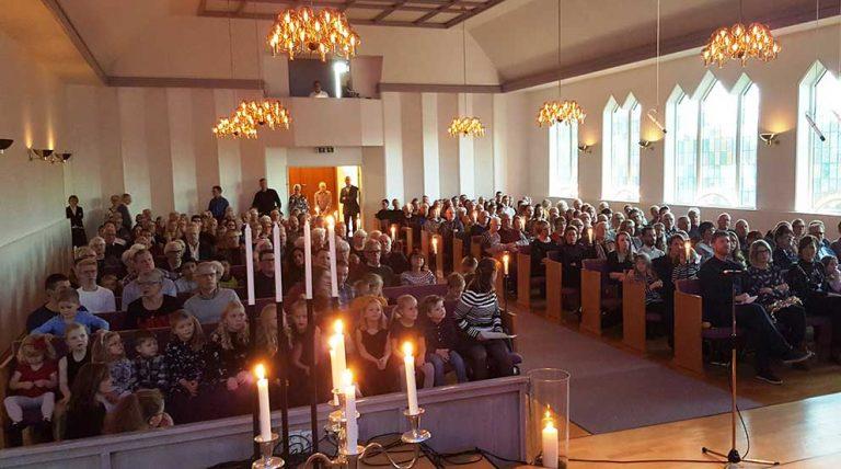 250 på adventskonsert i Betelkyrkan