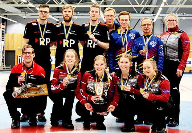 Eliten samlades för curling