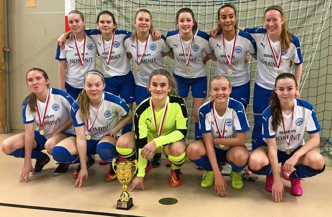 IFK-tjejer blev Smålandsmästare