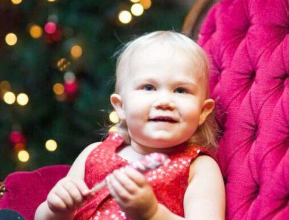 Nora Rosgren 2 år