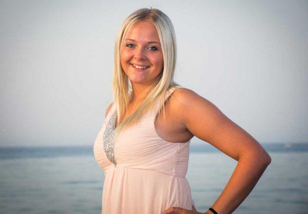 Amanda Claesson 20 år
