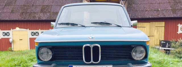 Christers första bil blev en BMW
