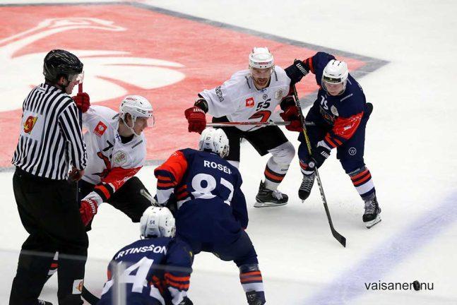 Ishockeykritik om publikbesked
