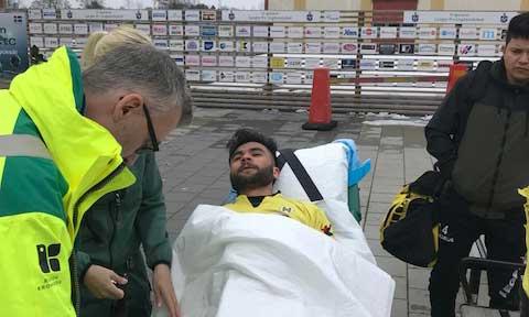 Arman matchhjälte för Horda – spelare skadad
