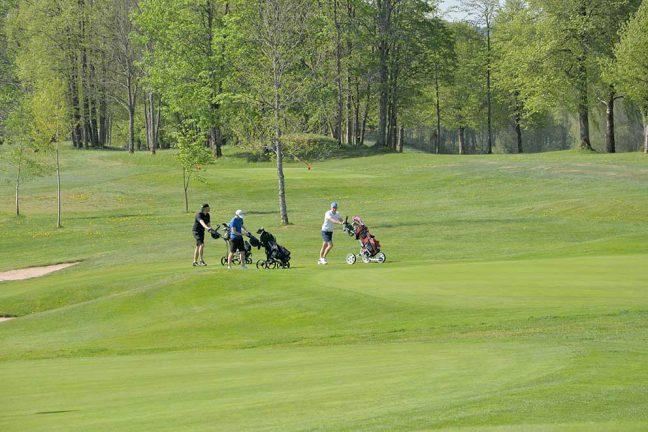 Oldboys har spelat golf