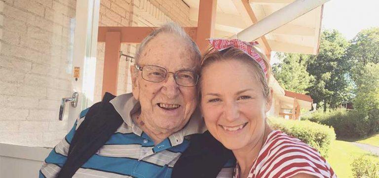 Min farfar hamnar på sluten avdelning