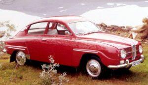 Mats första bil var en Saab