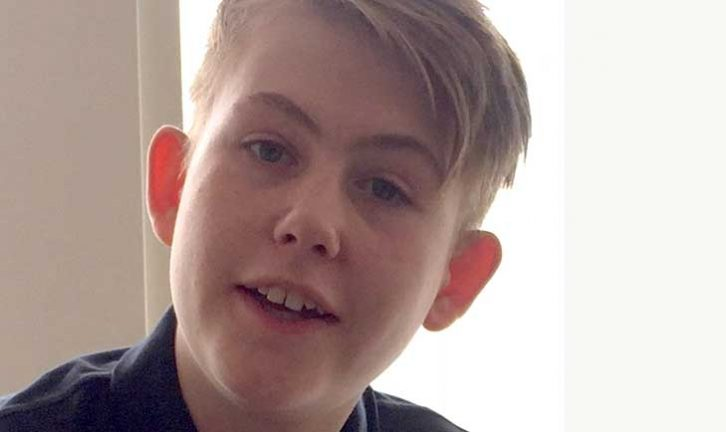 Alex Carlsson 13 år