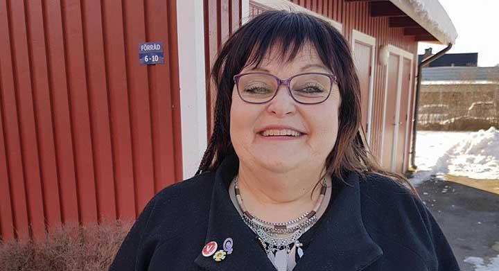 Erica Gunnarsson omvald som V-ordförande