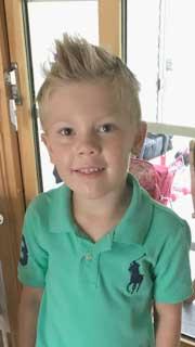 Elias Larsson 7 år