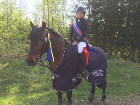 Emelie vann i Lidköping