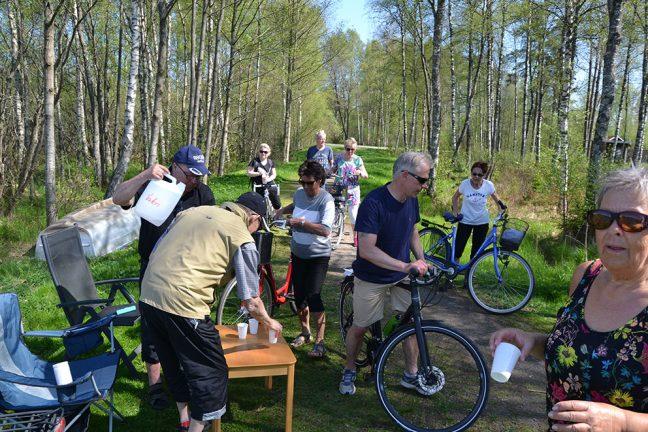 Färre deltog i Hjortsjön runt